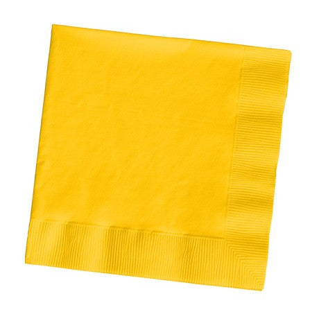Napkins :: Schoolbus Yellow