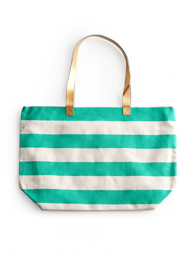 Patio Party Beach Bag :: Teal