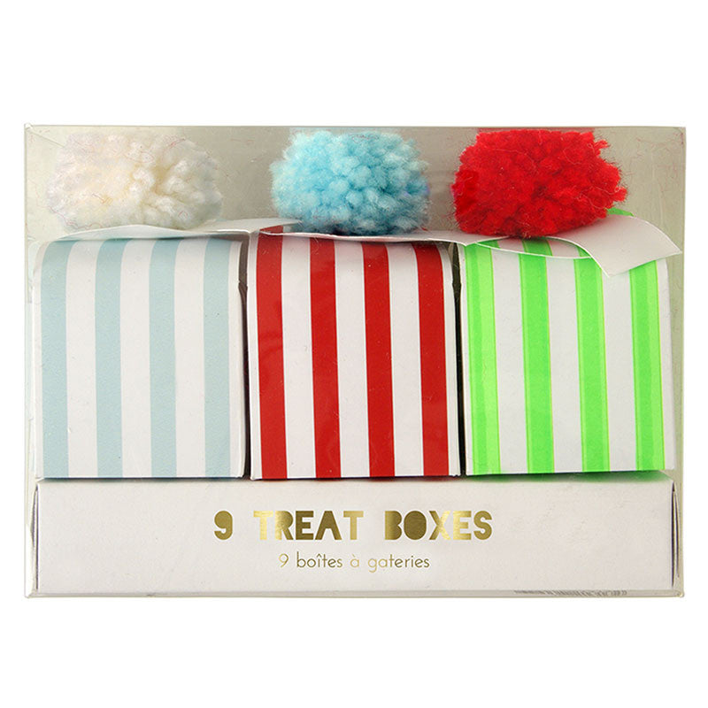 Pom Pom Treat Boxes