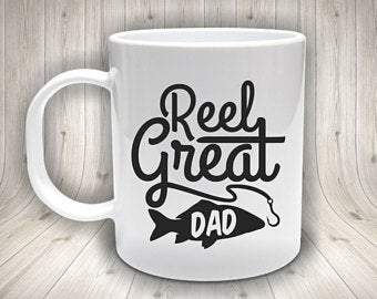 Reel great Dad mug
