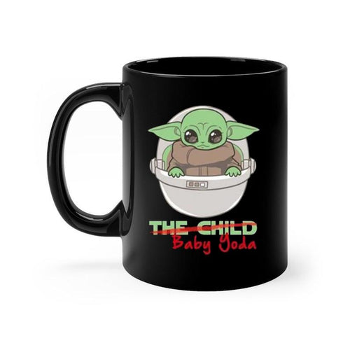 The Child Baby Yoda Mandalorian Poster Cute Geek Coffee Mug
