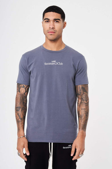 SLIM FIT EMBROIDERED T SHIRT