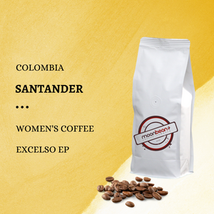Colombia Womens's co-op coffee beans 1 lb