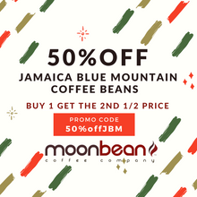 "Load image into Gallery viewer, ""SPECIAL OFFER WHILE SUPPLIES LAST"" [DISCOUNT CODE: 50%offJBM] JAMAICA BLUE MOUNTAIN - CLYDESDALE ESTATE"