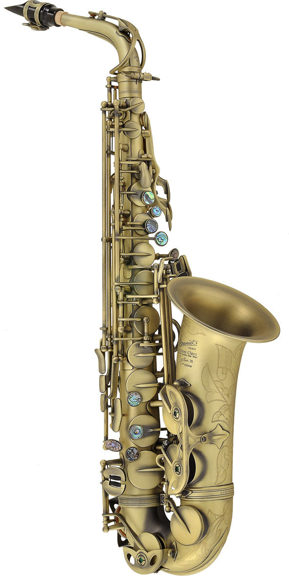 P Mauriat System 76 2nd Edition Alto Saxophone - Vintage Lacquer