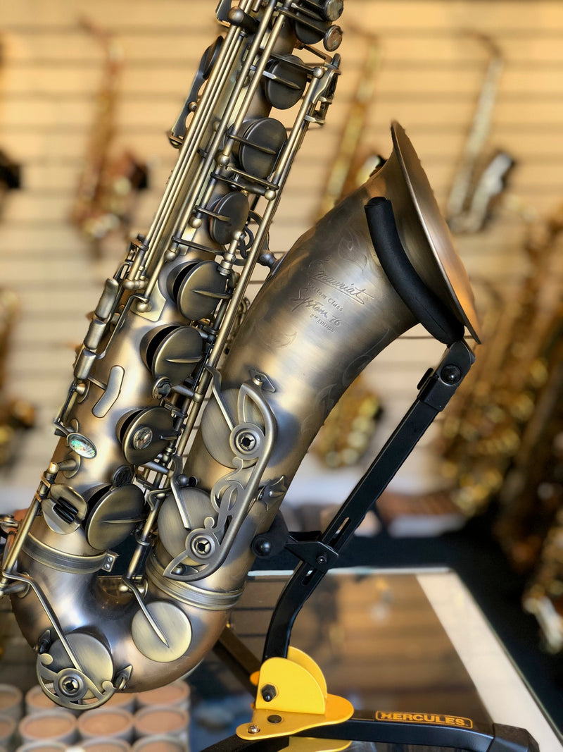 P Mauriat System 76 Dark Vintage Tenor Sax - Pre Owned