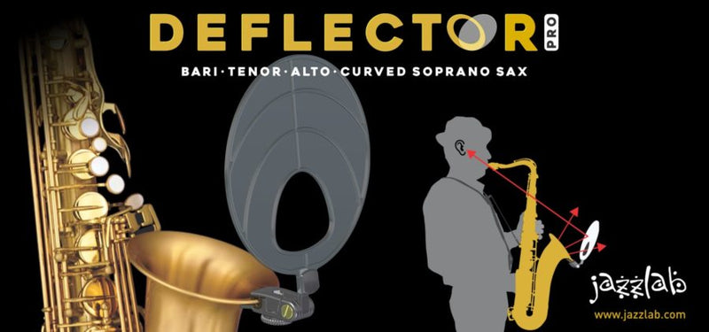 Jazzlab DEFLECTOR-PRO for Saxophones, Trumpet and Trombone
