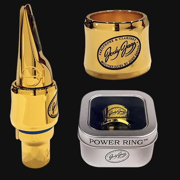 Jody Jazz Power Ring Ligature - Gold