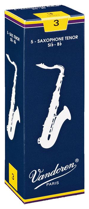 Vandoren Traditional - Tenor Sax Reeds - Box of 5-1.5
