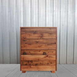 Cedar Barn Wood Style Tall Dresser