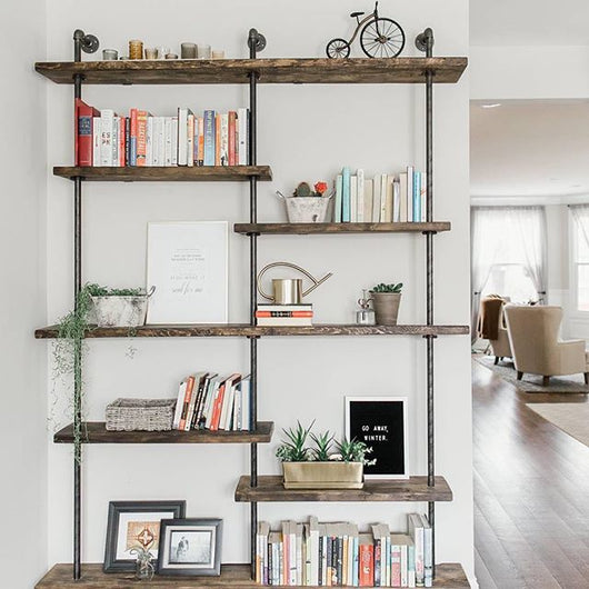 Iron & Grain Shelving - Handmade in USA