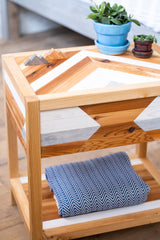 Tribal Craftsmen End Table