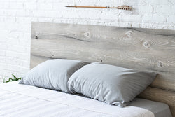 The Woodland - Rustic Modern Wood Headboard