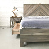 Side x Side Stow Platform Bed