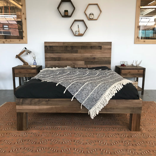 The Slim Maple Boswell Bed