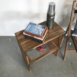 The Foundry Table - An Industrial Steel and Rustic Wood Collaboration - Handmade in USA