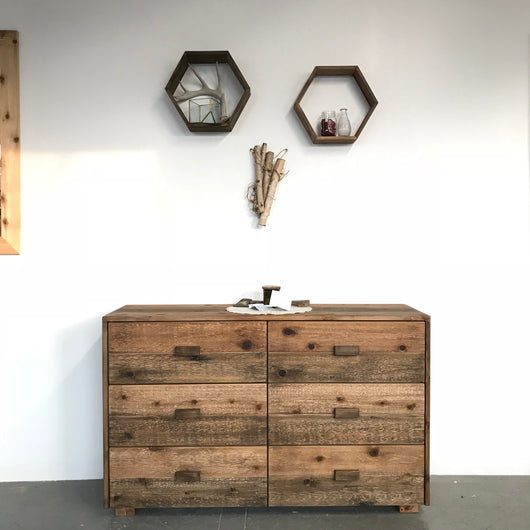 The Homestead 6 Drawer Dresser - Handmade in USA