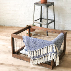 The Industrial Wire & Rustic Bin - Handmade in USA