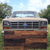 Rustic Barnwood Rough Sawn Homesteaders Headboard