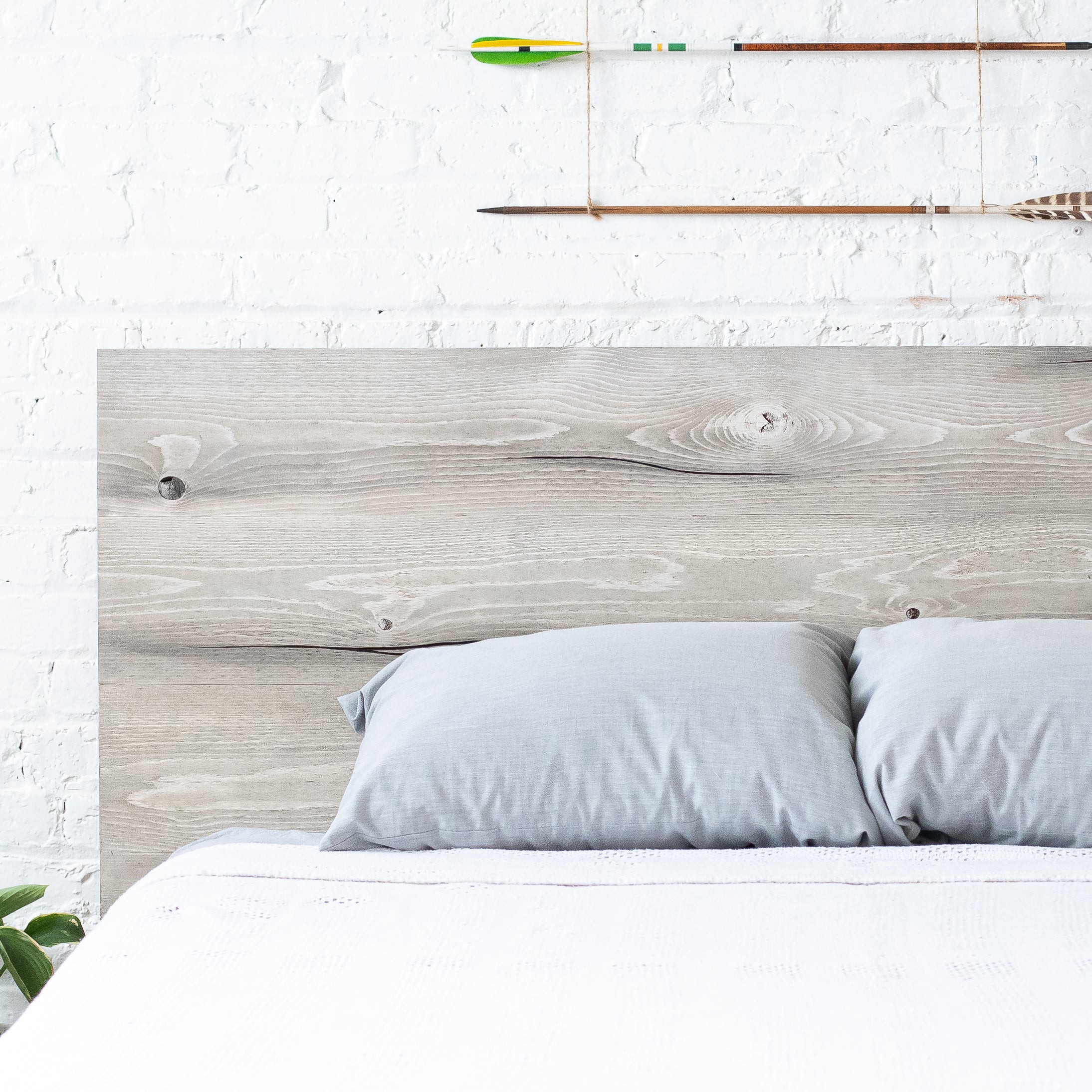 The Woodland Rustic Modern Wood Headboard Urban Billy