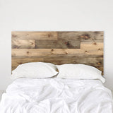 Weathered Barn Wood Rustic Headboard - Ol' Plank - Handmade in USA