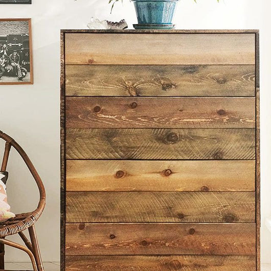 Rough Sawn Tall Dresser