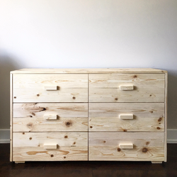 Beach House Dresser and Storage Chest - Rustic Modern - Made in USA