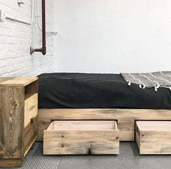 The Butte Stow Platform Storage Bed