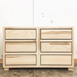 The Coastal Dresser and Storage Chest - Rustic Modern - Made in USA