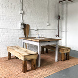 The General Bench - Rustic Modern - Handmade in USA