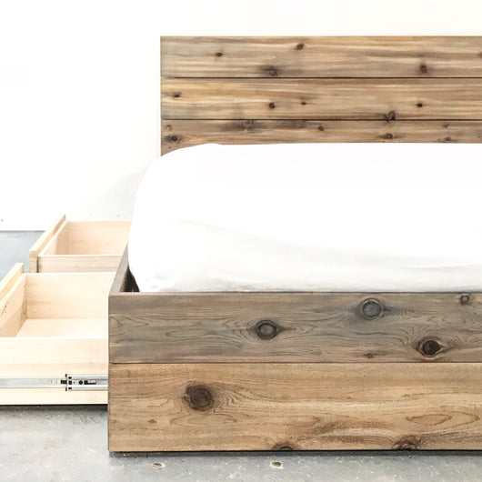 The Hideout Platform Storage Bed