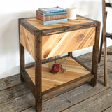 Chevron Craftsmen Table - Long Canyon