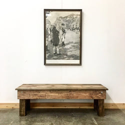 The General Bench - Rustic Modern - USA Made