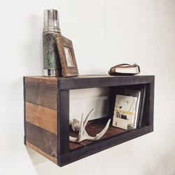 Ready/Set Side Table or Floating Shelf