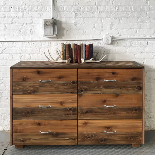 The Native 6 Drawer Dresser - Handmade in USA
