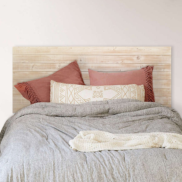 sale retailer 7e2a0 a0b10 Rustic Beach Wood / Whitewashed Barn Wood Style Headboard - Handmade in USA