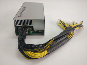 Used Bitmain APW3++ 1600W Power Supply For ANTMINER S9 S9i S9j L3+ D3 T9+ E3 Z9 Mini DR3 Innosilicon A9 A10 - Mining Heaven