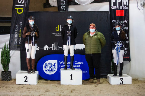 White Queen Equestrian Centre takes second place