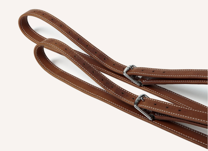 Butet Standard Lined Stirrup Leathers (23mm)