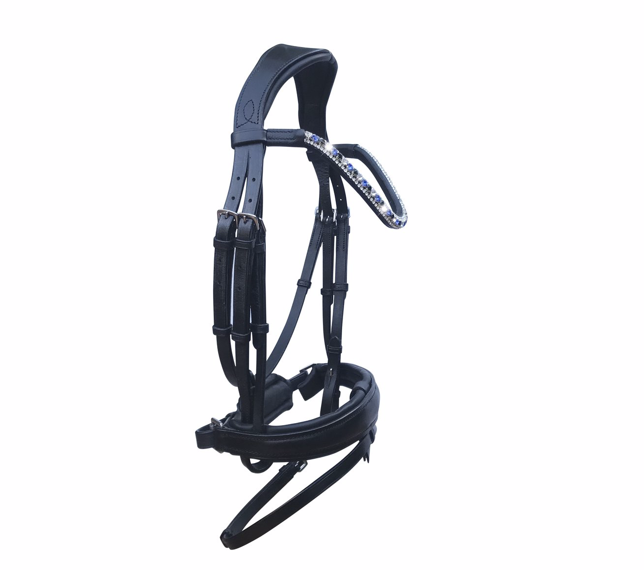 Lumiere 'Anastasia'-Black (Convertible) Bridle
