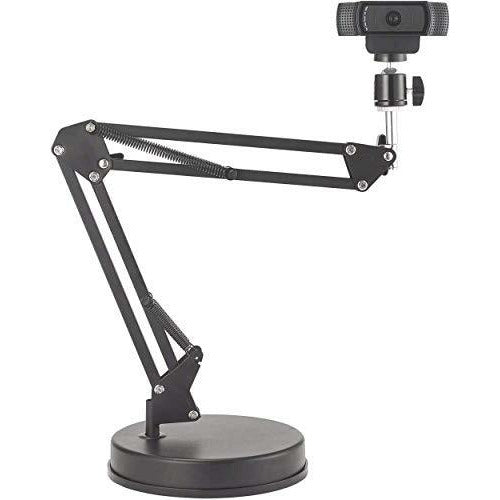 OXENDURE Webcam Stand 22 inch Suspension Boom Scissor Arm Stand with Base,Compatible with Logitech Webcam C925e C922x C922 C930e C930 C920 C615, GoPro Hero 8/7/6/5, Arlo Ultra/Pro/Pro 2/Pro 3/Brio 4K - Like New