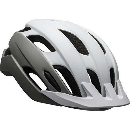 BELL Women's Trace W Touring Bicycle Helmet, Matte White/Silver, standard size - Like New