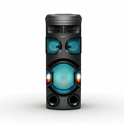 Sony MHC-V72D, High Power Party Speaker. One Box Music System with 360º Lighting - Very Good
