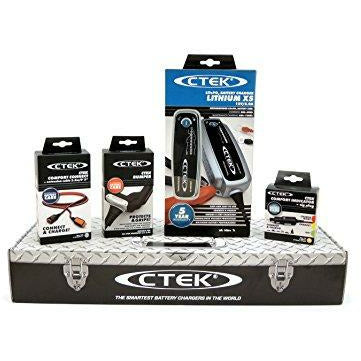 CTEK LITHIUM XS 56-899) Toolbox fantastic Charger Set with Accessories - Like New