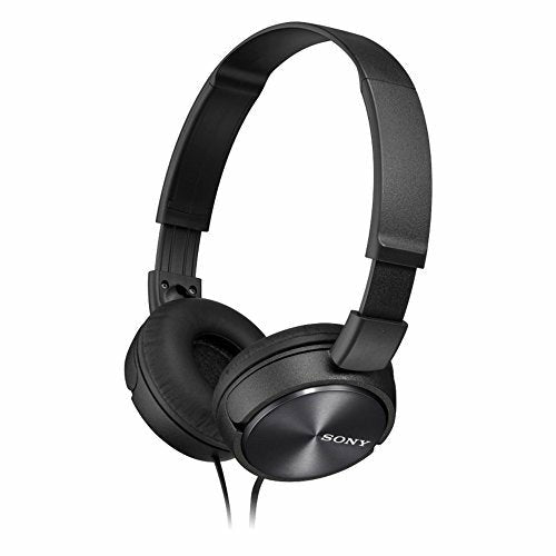 Sony MDR-ZX310-BLACK Wired Headphones with Lightweight Adjustable Headband and Swivel Earcups - Like New