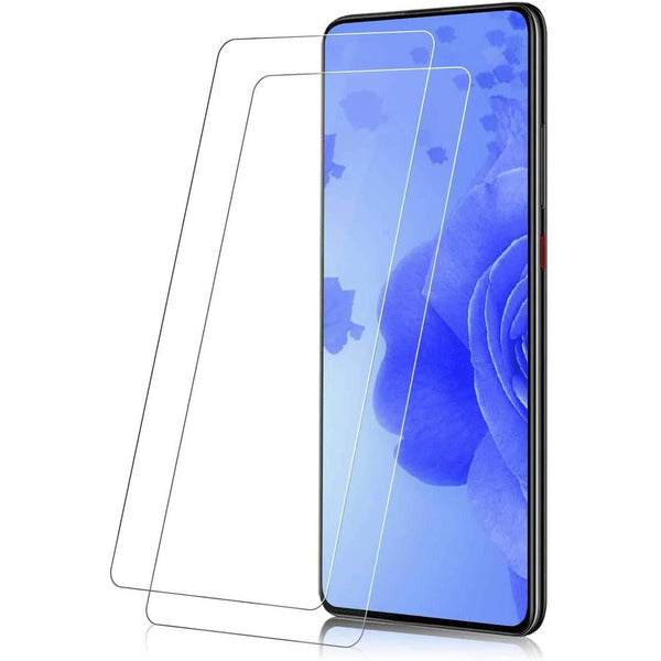 NFYYU Mi 9T/ Mi 9T Pro [2 Pack] Screen Protector Glass [2 Pack], Mi 9T Tempered Glass [Bubble Free] [9H Hardness][Crystal Clear][Scratch Resist] for Xiaomi Mi 9T/ Mi 9T Pro, Like New