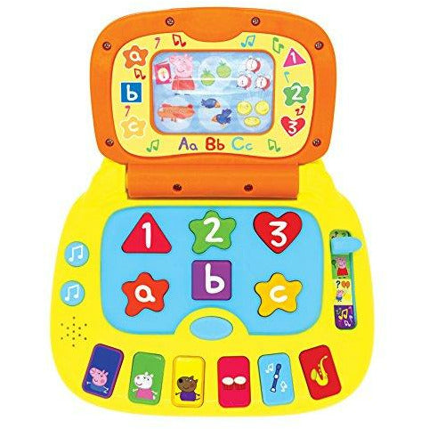 Peppa Pig PP02 Laugh and Learn Laptop Electronic Toy, Like New