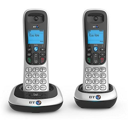 BT2100 Cordless DECT Phone - Twin Handset Pack - Like New