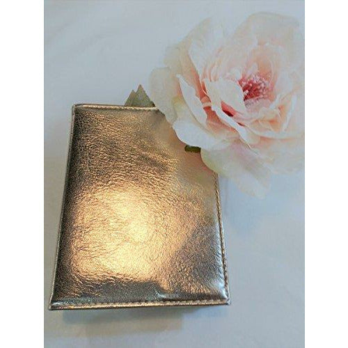 2 x Home Inspirations Rose Gold Covered Notebook - Brand New