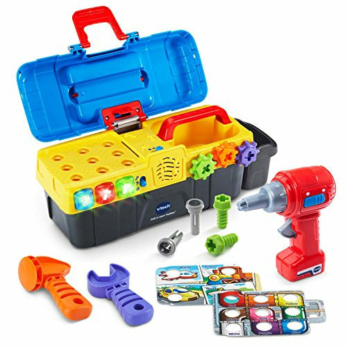 VTech Vtech Vtech Drill And Learn Toolbox, Like New